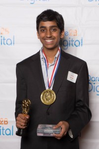 Arya Goutam of The Nueva School, 2016 1st Place Winner, Silicon Valley Innovation Challenge